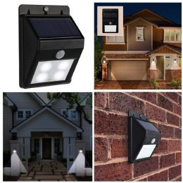 Bright LED Solar Powered Outdoor Security Garden Solar Light Easy Fit Lights